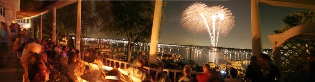 Fireworks Panoramic