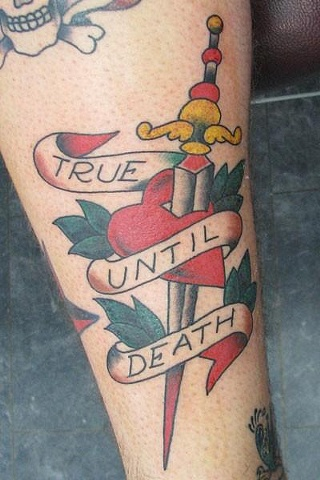 Sailor Jerry True Until Death