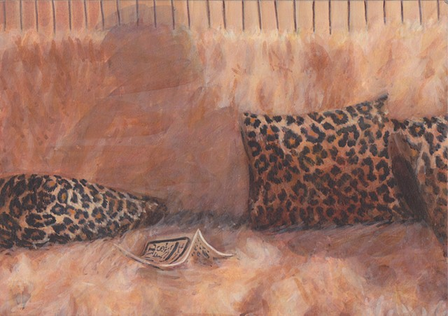 Gage with Leopard Pillows
