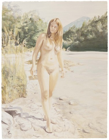 Naturist by the River