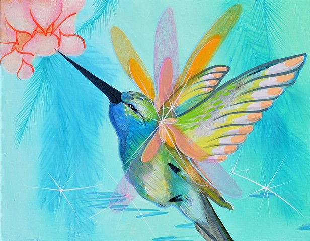 Flutter painting by Anna Todaro Sadur
