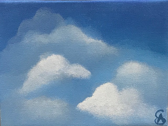 Blue Clouds (Click this image for purchasing details)