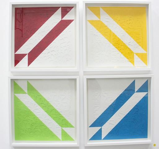 Cut Paper Art, Quilt Art, Paper Quilt Art,