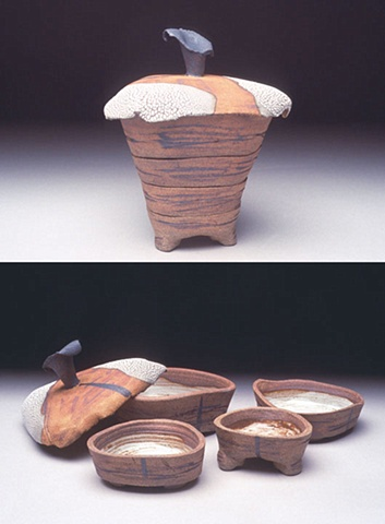 Triangular Serial Bowls
