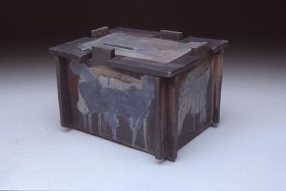 Raku puzzle box