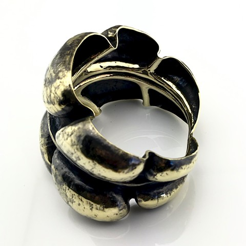 Epidermal Plane Bangle Bracelet
