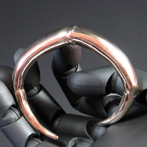 TENDRIL TAPER CUFF BRACELET BRONZE