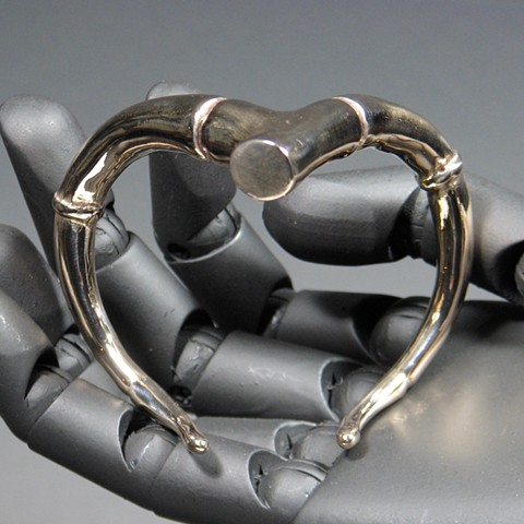 TENDRIL BRANCH CUFF BRACELET BRONZE