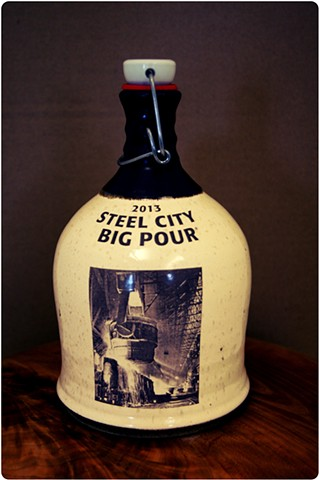 Limited edition Made for The Big Pour at Construction Junction