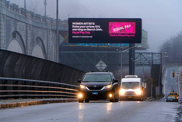 The Art of Equal Pay Billboard