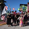 PUBLIC ACTIONS -Vote Feminist, Berkeley, CA, Oct. 25, 2020 -Radical Love Parade, Sweden, Sept. 2019 -Body Business, San Francisco, Jan. 2019 -We Vote Parade, New York  2018 -Parade Against Patriarchy, Miami  2017