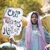 Ebony Brown We Vote Parade