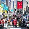 Vote Feminist Parade Times Square, New York