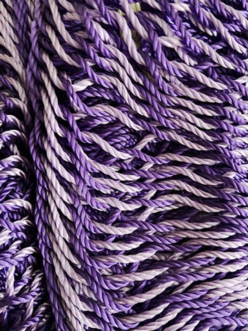 Hammock detail purple