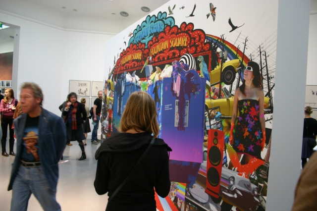 Opening at Van Abbemuseum- Netherlands