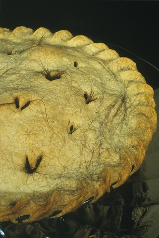 Hair pie: detail