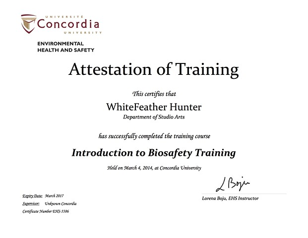 Introduction to Biosafety Training, Lab Safety Training Certification