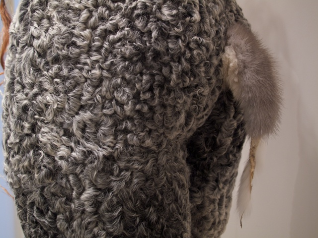 Alma, detail: tail