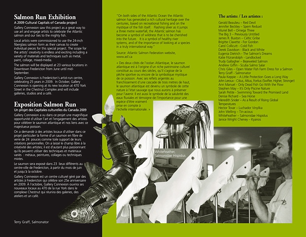 Salmon Run brochure: inside