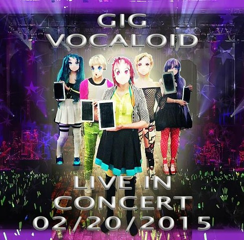 Gig Vocaloid by Erin Gee