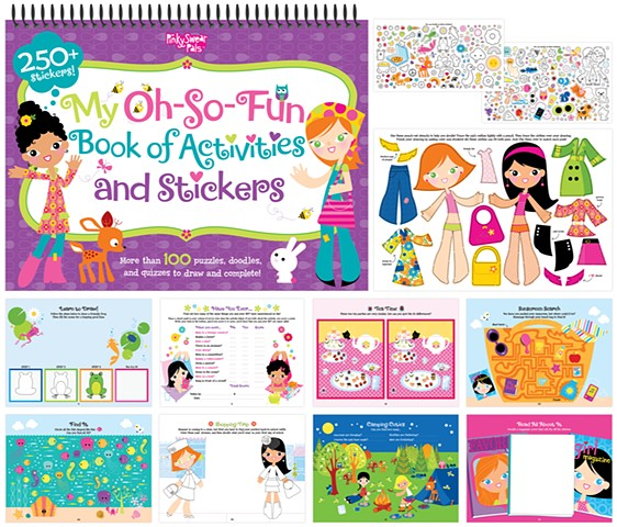 Oh So Fun Book of Sticker Activities