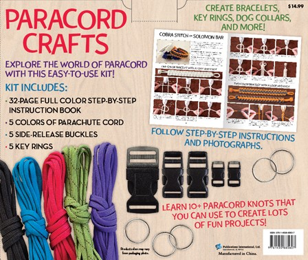 Paracord Crafts - Box Back