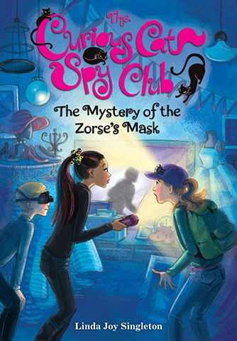 The Curious Cat Spy Club #2 - The Mystery of the Zorse's Mask