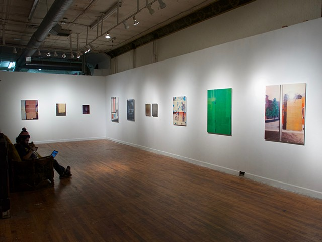 "Installation view,  ""Please Pardon Our Appearance"""