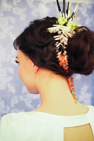 Custom Bridal Headpiece and Necklace