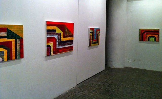 Installation shot Blank Space Gallery - Chelsea, NY Duo Exhibit: November 29 - January 11, 2013