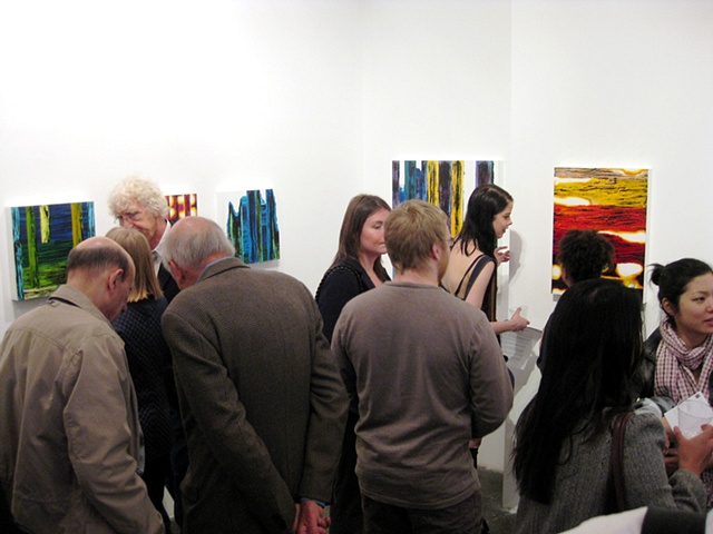 Opening at Blank Space Gallery Chelsea, NY