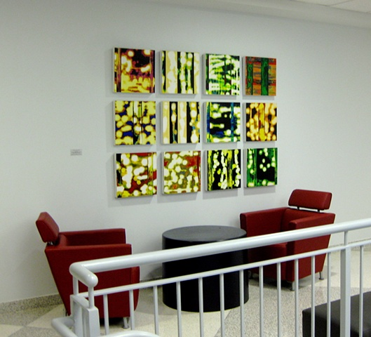 Paintings that are part of the permanent collection in Alter Hall, Temple University Fox School of Business