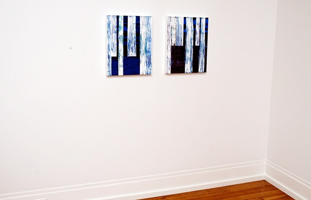 Installation for solo exhibit, 'Long Distance' Bridgette Mayer Gallery Philadelphia, PA, 2009
