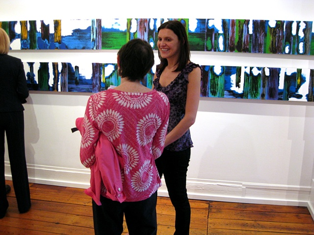 Opening for solo exhibit, 'Long Distance' Bridgette Mayer Gallery Philadelphia, PA, 2009