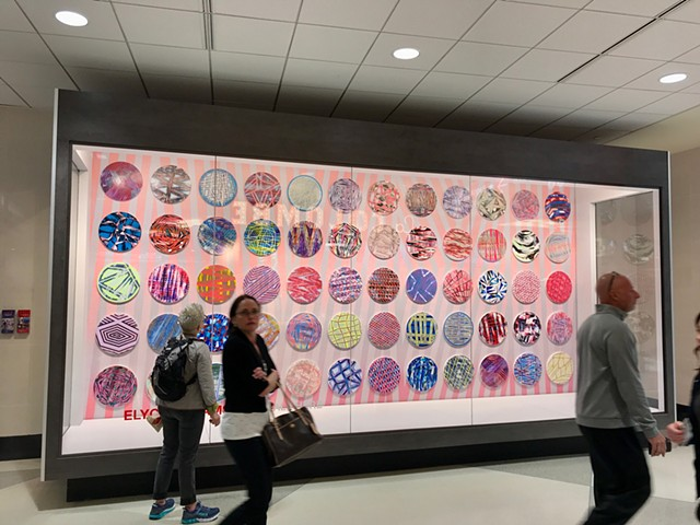 Elyce Abrams: We're All Here, Terminal C of the Philadelphia International Airport.