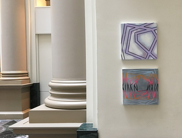Installation at the Curtis Building, Art In Rotation, Philadelphia, PA