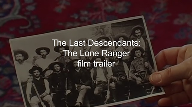 The Lone Ranger: The Last Descendants, film trailer