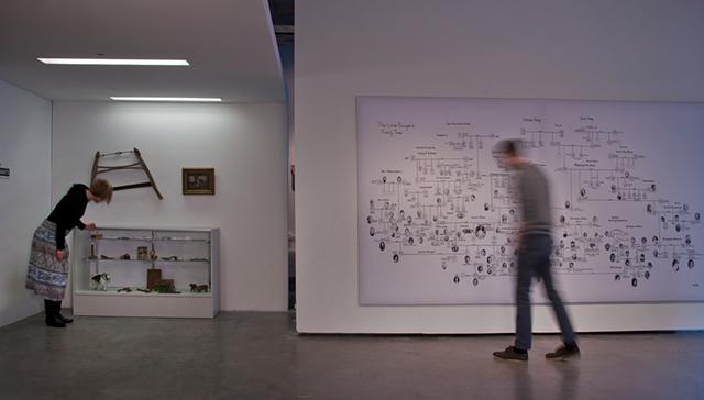 The Last Descendants exhibition, Paragraph Gallery, Kansas City, 2011                       photo by EG Schempf