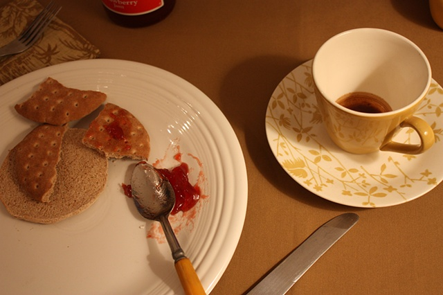 detail, You Never Dine Alone, installation