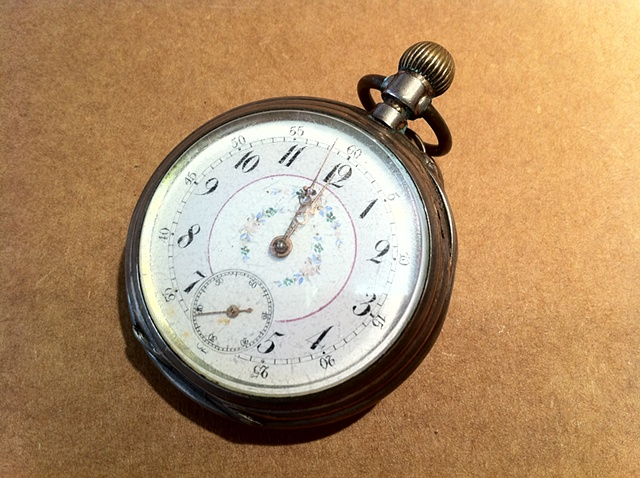 Buffalo Bill, The Lone Ranger, Wild West, family heirlooms, pocket watch