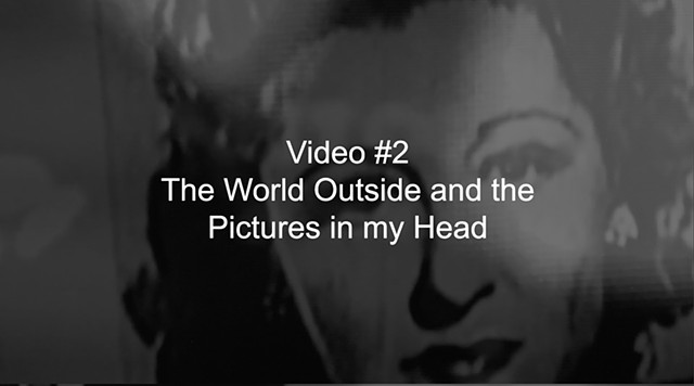 Video #2, The World Outside and the Pictures in my Head