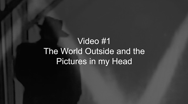 Video #1, the World Outside and the Pictures in my Head