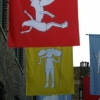 Girls Brigade Flags Front View