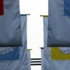 Girls Brigade Flags Back View