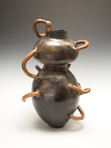 Historical Vessel with Snakes Jacob Brown, Ceramics I