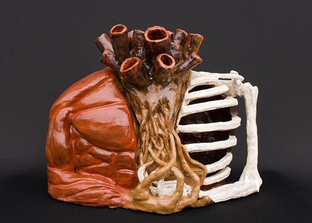 Self-Portrait: Anatomy Sabrina Goddard, Ceramic I