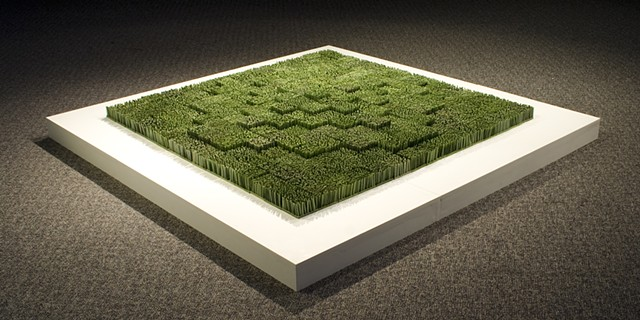 Grass Variation (Diagonal Mound)