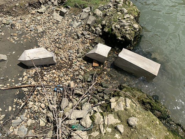 Fallen Monument (Obelisk Fragments, Tiber River I)
