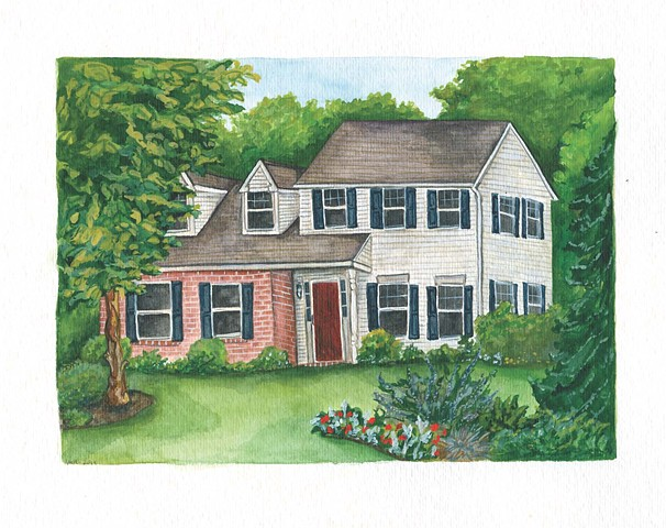 House Portrait Commissions