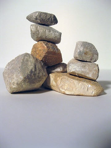 The Idea of Up (stack of rocks)